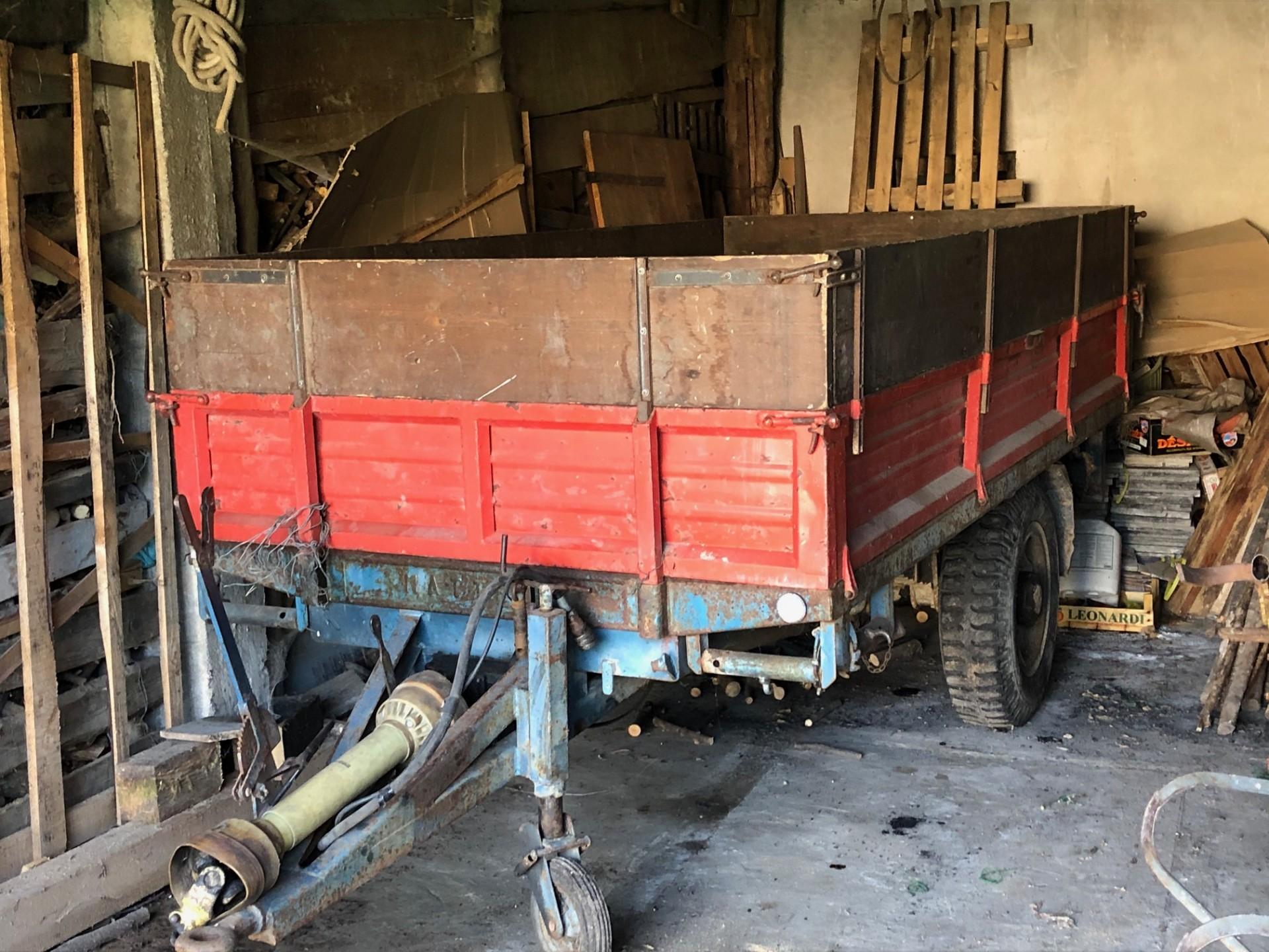 Rimorchio Agricolo Mattedi Mb33tr Trento